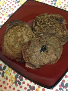 Gluten free pancakes made with teff flour